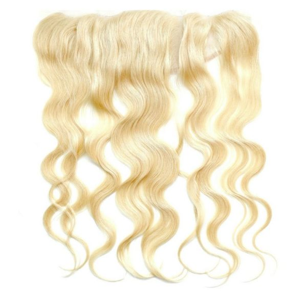 Russian Blonde Frontal color #613 seen from front