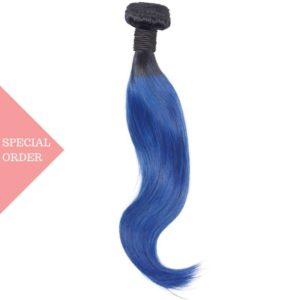 Blue Ombre Straight one bundle