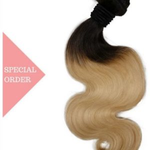 Mid Ombre Blonde Body Wave color #1B/#613
